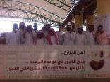 النادي الاجتماعي بثانوية الملك خالد يقوم بزيارة لمدينة الملك عبدالله لتمور