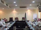 اللجنة التجارية بغرفة الخرج تعقد اجتماعها الموسع الأول