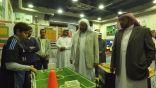 """"""" بالغنيم """" ووكيل وزارة """" التعليم """" في زيارة لمدرسة عمار بن ياسر الابتدائية"""