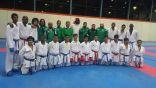 أخضر الكاراتيه يطير الى جاكرتا  للمشاركة في بطولة العالم الـ 9