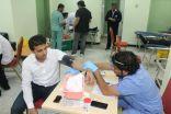 """""""تقنية المدينة  """" تنظم حملة تبرع بالدم نصرة لجنودنا البواسل"""
