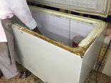 بالصور .. بلدية الخفجي تصادر 1298 حبة كيك تالفة معدة للتوزيع للمدارس