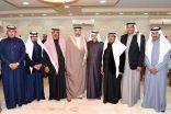 """بحضور الأمير عبدالعزيز بن جلوي """" العميرين """" يكرم بلدي الأحساء الجديد"""