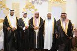 """بالصور .. """" النجلاء """" يحتفل بزواج ابنه """"حسين"""" بمدينة الرياض"""