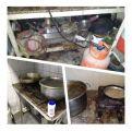 بالصور .. إغلاق 5 مطاعم في مدينة المبرز