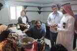 الوكالة الفرنسية تزور الحملة الوطنية السعودية للإطلاع على تجربتها في الخدمات الانسانية