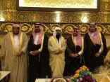 """بالصور .. """" العنزي """" يحتفل بزواج نجليه علي وتركي بمدينة الرياض"""