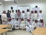 إدارة ثانوية الحرمين تتوج الفائزين في المسابقة الثقافية