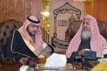 """سماحة المفتي العام و عضو هيئة كبار العلماء الشيخ  الفوزان يستقبلان """" السديري """""""