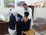 نفيذ حمله التطعيم بمدرسة شجعه المتوسطة