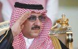 نائب خادم الحرمين يؤدي صلاة الميت على الأميرة نوف بنت عبدالعزيز