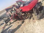 بالصور .. حادث إنقلاب يسفر عن وفاة سوداني وإصابة مصري