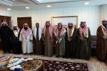 وفد من #الأحساء يهنئون نائب وزير الشؤون الإسلامية على الثقة الملكية