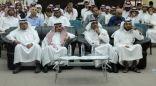 د. الشهري يفتتح النشاط الثقافي للفصل الدراسي الثاني بكلية الآداب