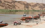 بالصور : انتشال جثة غريق سد وادي نمار في #الرياض