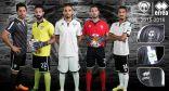 هجر يستعرض أطقم الفريق الأول لكرة القدم للموسم الرياضي 2015 / 2016